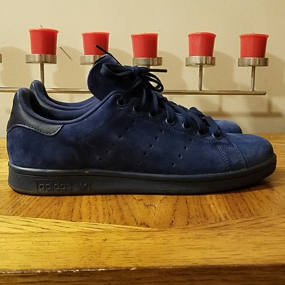 Adidas Originals Stan Smith indigo (navy) and white Depop